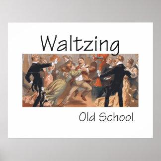 TOP Waltzing Old School Posters