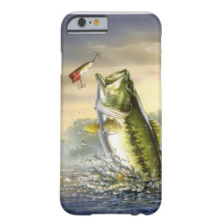Top Water Action - Largemouth iPhone 6 Case