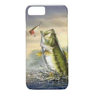 Top Water Action - Largemouth iPhone 7 Case
