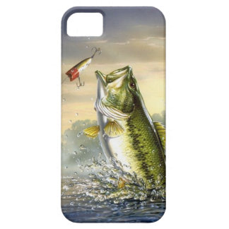 Top Water Action - Largemouth iPhone SE/5/5s Case