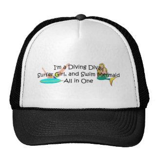 TOP Water Girl Trucker Hat