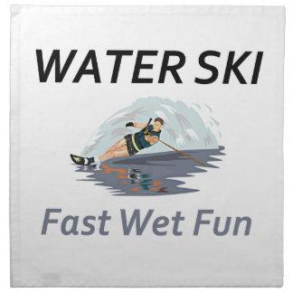 TOP Water Ski Cloth Napkin