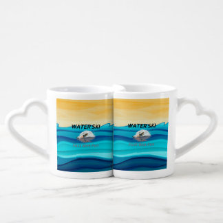 TOP Water Ski Coffee Mug Set