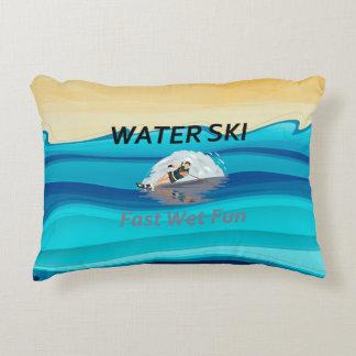 TOP Water Ski Decorative Pillow