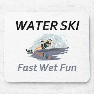 TOP Water Ski Mouse Pad