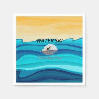 TOP Water Ski Paper Napkin