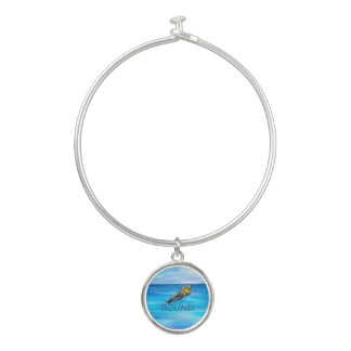 TOP Water Skiing Bangle Bracelet