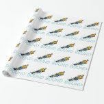 TOP Water Skiing Gift Wrapping Paper