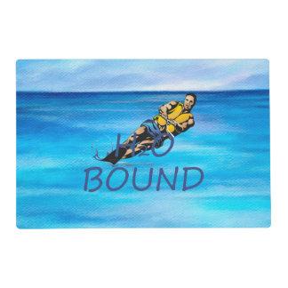 TOP Water Skiing Laminated Placemat