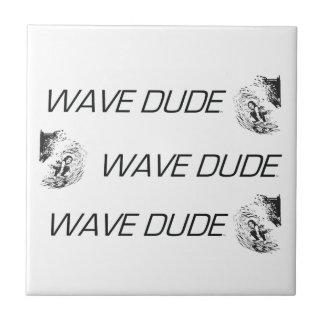 TOP Wave Dude Ceramic Tile
