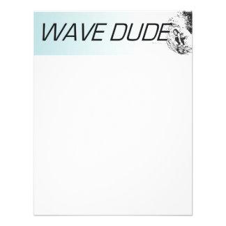 TOP Wave Dude Invitations