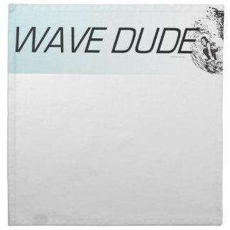 TOP Wave Dude Printed Napkins