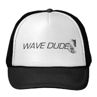 TOP Wave Dude Trucker Hat