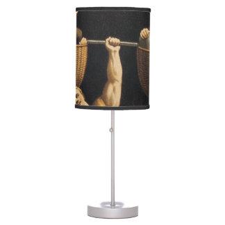 top weightlifting old school desk lamp. Black Bedroom Furniture Sets. Home Design Ideas