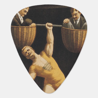 TOP Weightlifting Old School Guitar Pick