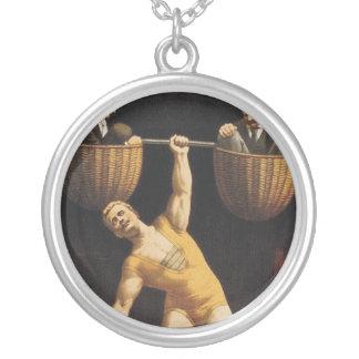 TOP Weightlifting Old School Custom Jewelry