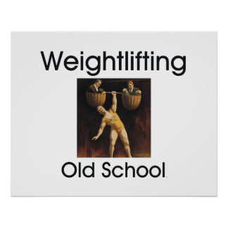 TOP Weightlifting Old School Posters