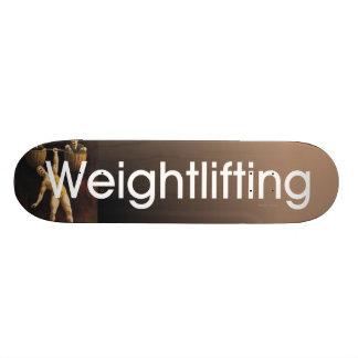 TOP Weightlifting Old School Custom Skate Board