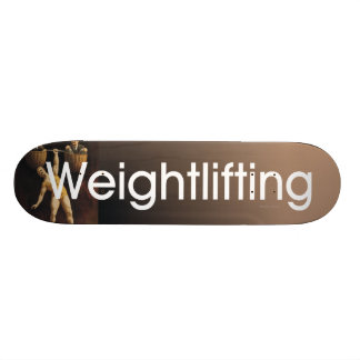 TOP Weightlifting Old School Skateboard Deck