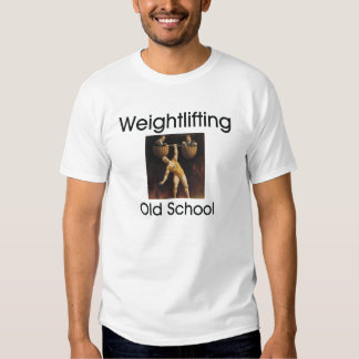 TOP Weightlifting Old School T-shirts