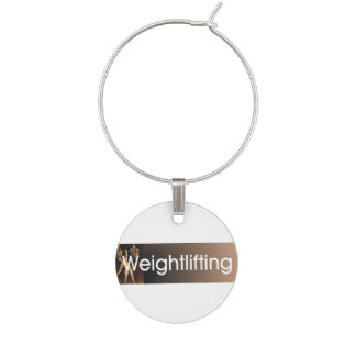 TOP Weightlifting Old School Wine Charms