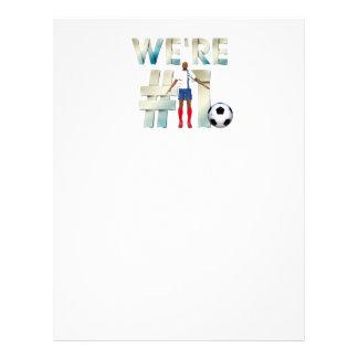 TOP We're #1 Soccer Flyer
