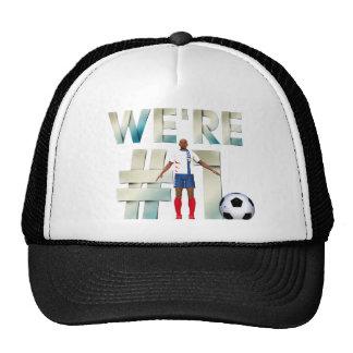 TOP We're Number One Trucker Hat