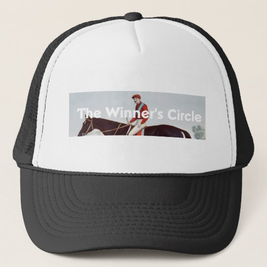 TOP Winner's Circle Trucker Hat