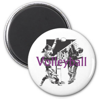 TOP Women's Volleyball Magnet
