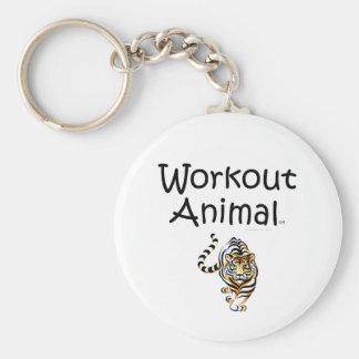 TOP Workout Animal Keychain