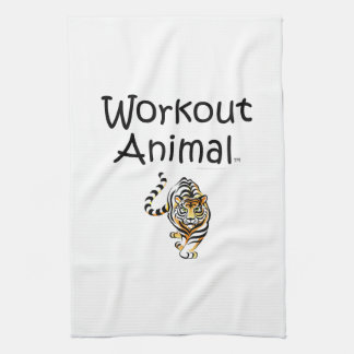 TOP Workout Animal Hand Towels