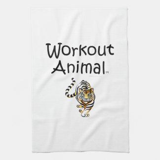 TOP Workout Animal Towel