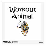 TOP Workout Animal Wall Decal