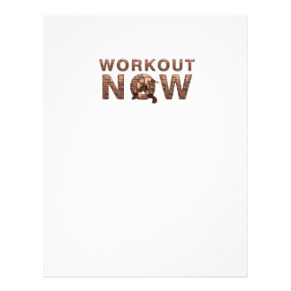 """TOP Workout Now 8.5"""" X 11"""" Flyer"""