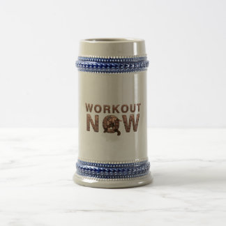TOP Workout Now Beer Stein