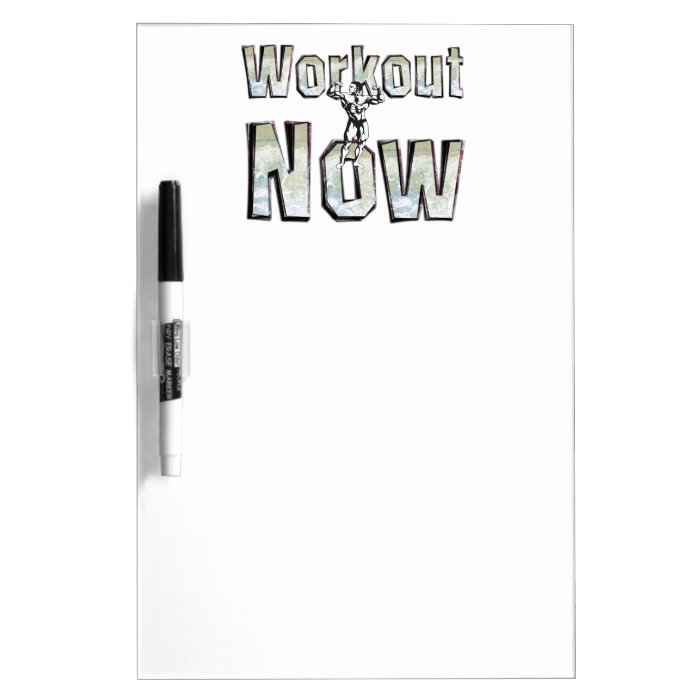 TOP Workout Now Dry-Erase Board