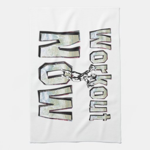 TOP Workout Now Kitchen Towels