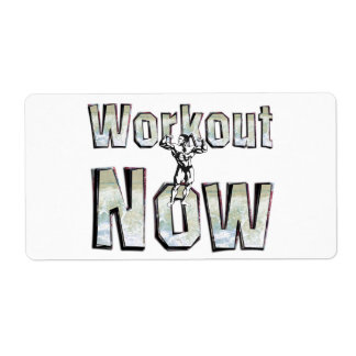 TOP Workout Now Label
