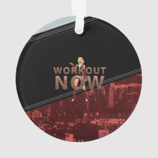 TOP Workout Now Ornament