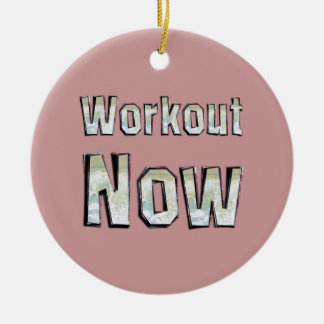 TOP Workout Now Christmas Ornament