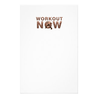 TOP Workout Now Stationery