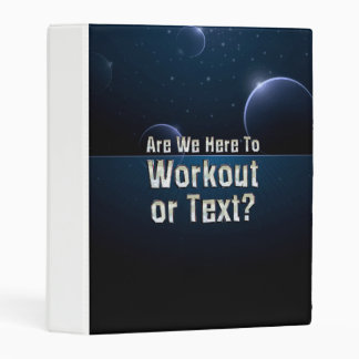 TOP Workout or Text Mini Binder