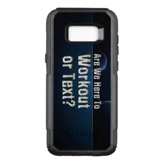 TOP Workout or Text OtterBox Commuter Samsung Galaxy S8+ Case