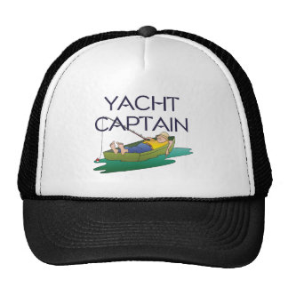 TOP Yacht Captain Fun Mesh Hat