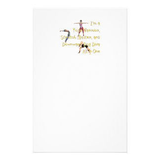 TOP Yoga Diva Stationery