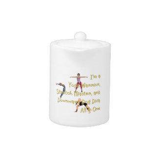 TOP Yoga Diva Teapot