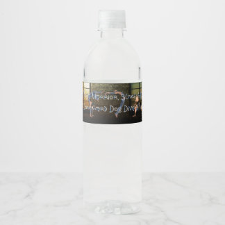 TOP Yoga Diva Water Bottle Label