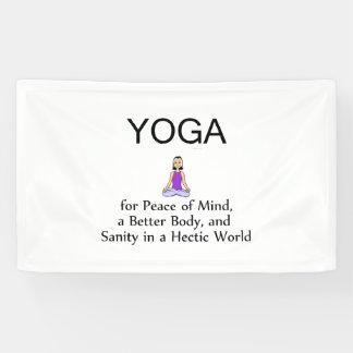 TOP Yoga Slogan Banner