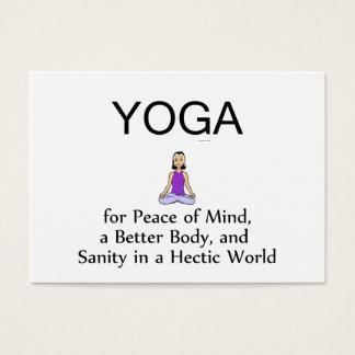 TOP Yoga Slogan Business Card
