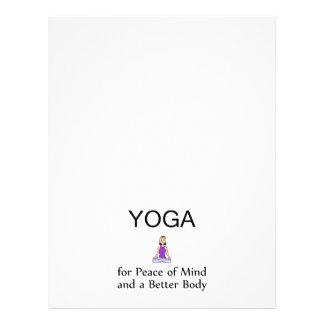 TOP Yoga Slogan Flyer